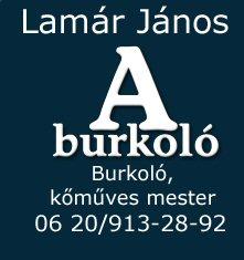 Lamár János Burkoló mester